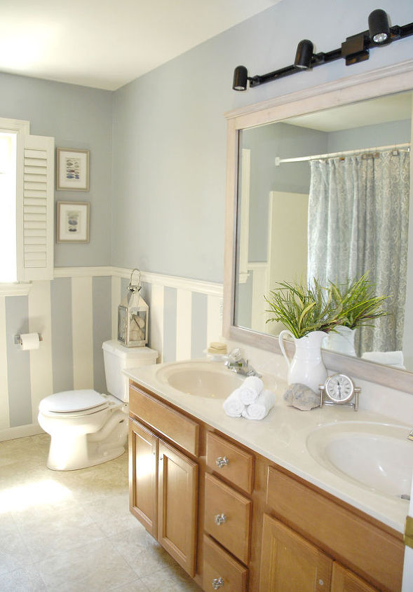 diy driftwood mirror frame without nails or screws, bathroom ideas, diy, how to, wall decor, woodworking projects