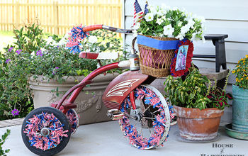Are You Decorating Your Bike For The Fourth Of July?