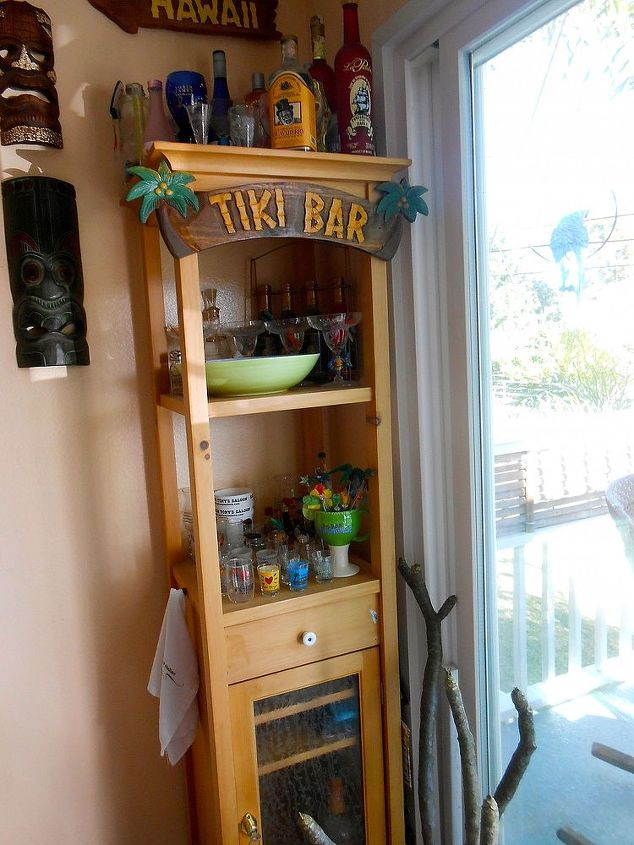 The Tiki Bar.  My Kitchen is more bar, less kitchen!