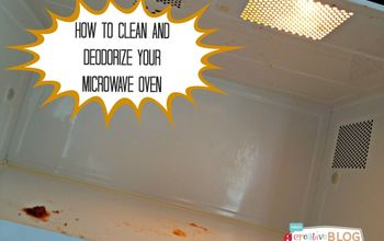 How to Clean and Deodorize Your Microwave