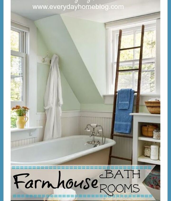 Six Elements of a Farmhouse Bathroom
