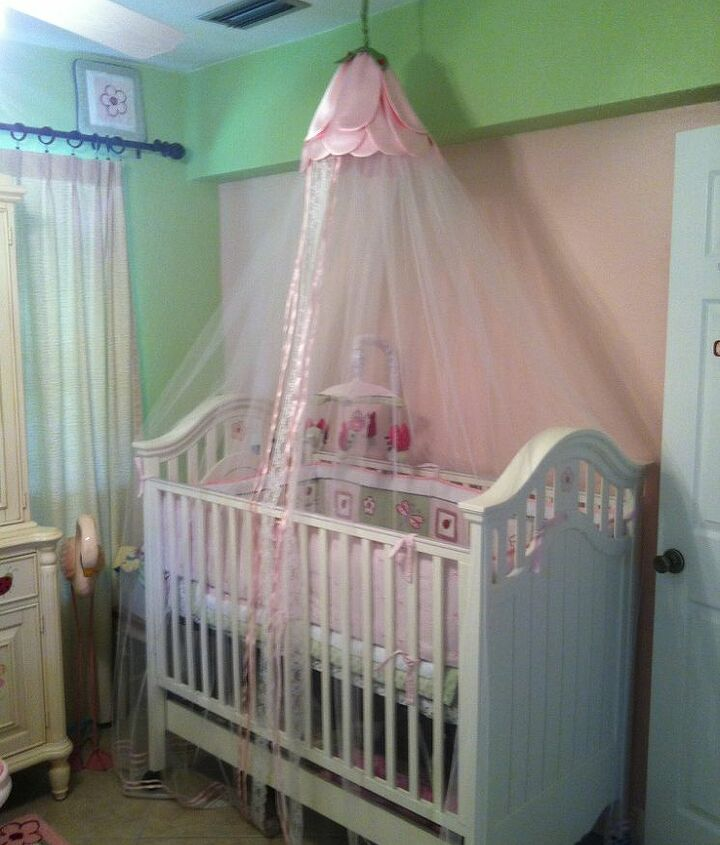 ladybug crib canopy, bedroom ideas, crafts, home decor