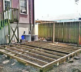 Attrayant Backyard Deck In New Orleans, Decks, Diy, Gardening, Outdoor Living, Urban