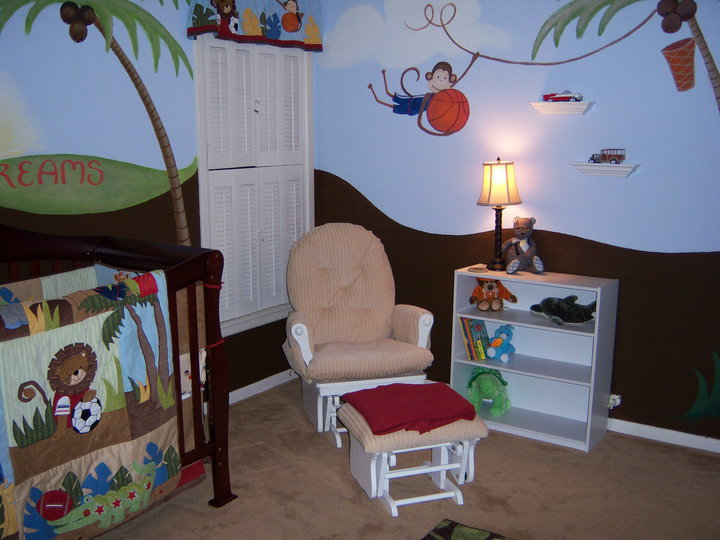 Transforming Ugly Dresser To Safari Nursery Changing Station Bedroom Ideas Home Decor Painted