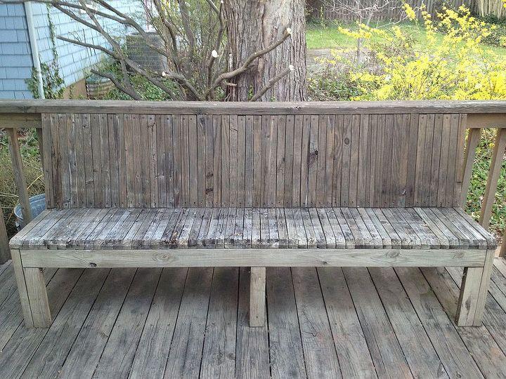 q deck bench cushion, decks