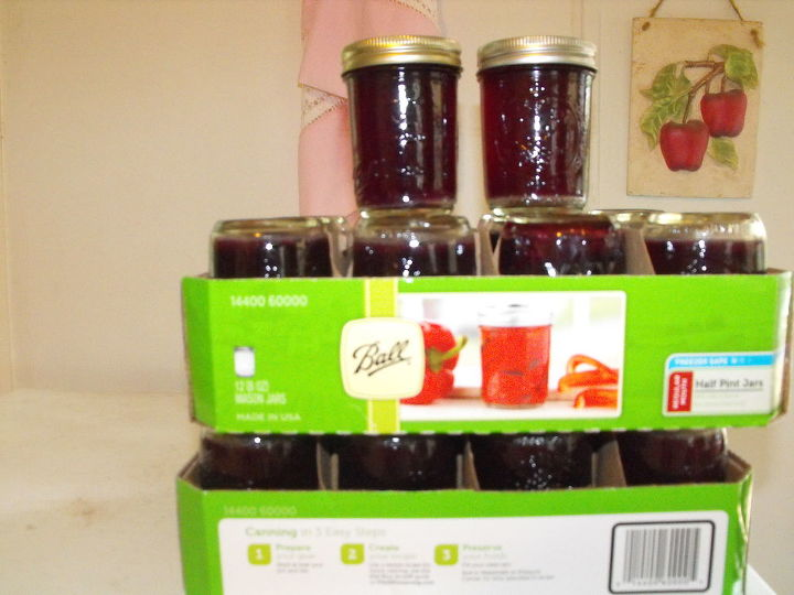 26 jars, 3 batches...not bad!