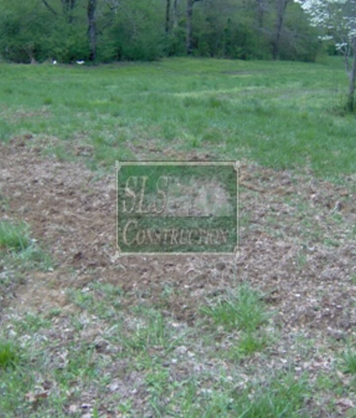 The first step is determining where you want your garden to be & clearing it. The flatter the ground is, the easier the process will be. Even if you happen to have a slight slope this method will work