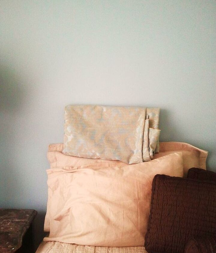 Fabric for an upholstered headboard