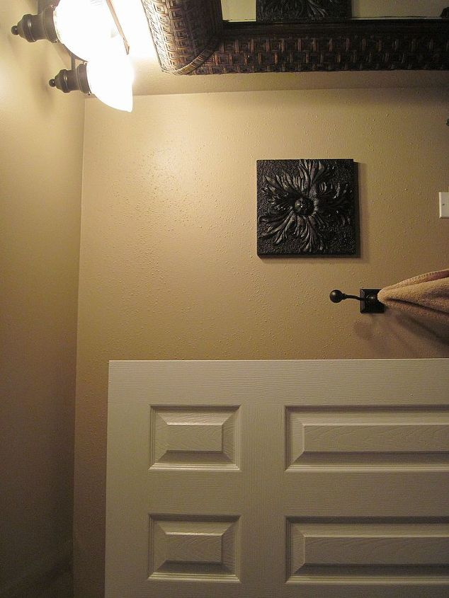 powder room ceiling and wall suggestions, wall decor
