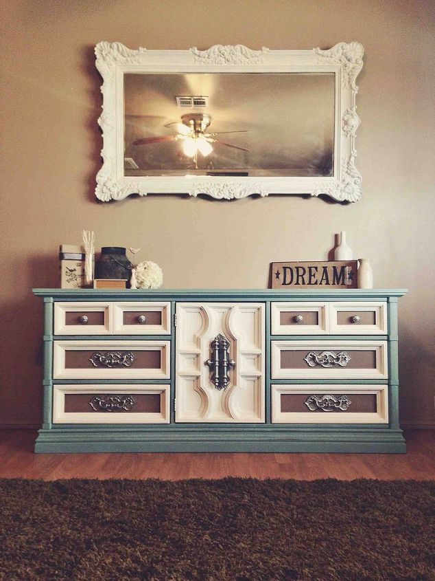given a new life, chalk paint, painted furniture