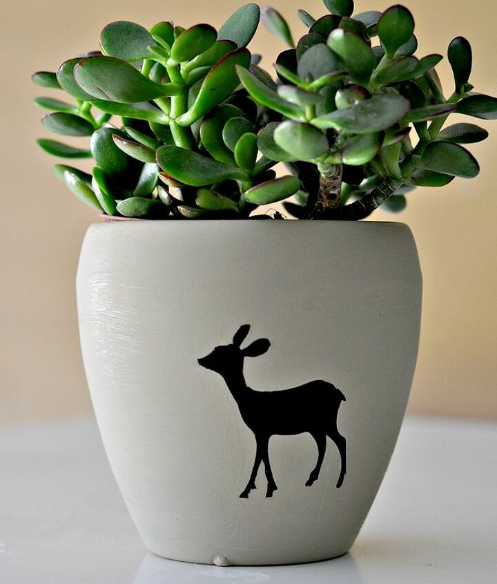 Doesn't this little jade succulent fit the doe perfectly?