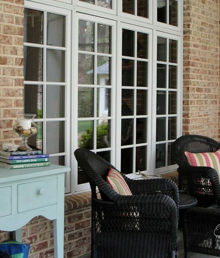 our southern screened porch tour, curb appeal, outdoor living, porches