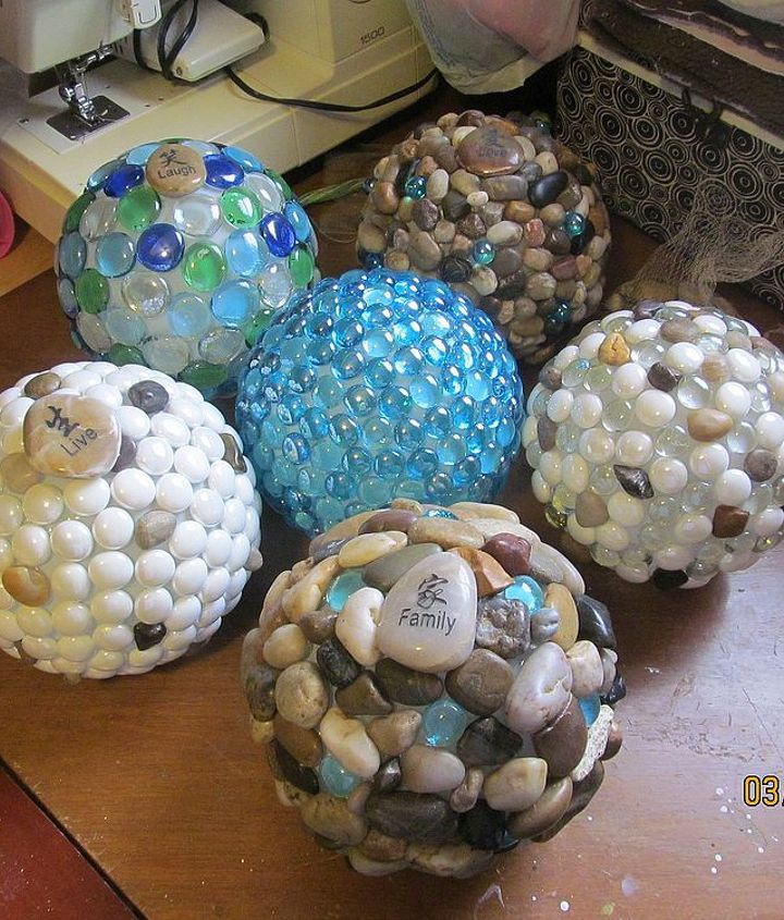 garden globes, crafts, mason jars, Fast forward six different globes