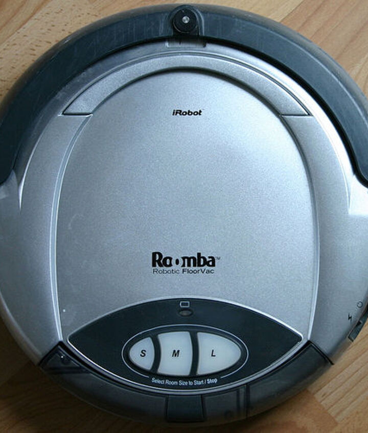 The iRobot Roomba.