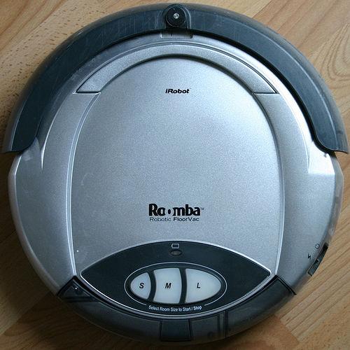 The iRobot Roomba.