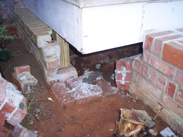 hey hometalkers if you have settled or sinking concrete here in atlanta slabjack, BEFORE