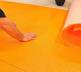 Beautiful 20 X 20 Ceramic Tile Tall 3X6 Subway Tile Backsplash Regular 500X500 Floor Tiles Acoustic Ceiling Tiles Uk Old Acrylic Ceiling Tiles GrayAdhesive For Ceramic Tiles Installing Schluter DITRA Tile Underlayment | Hometalk