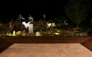 art in the landscape, landscape, outdoor living, ponds water features, Not your typical water feature