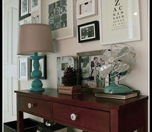 a diyers small space home tour, home decor, Gallery wall how to and DIY art