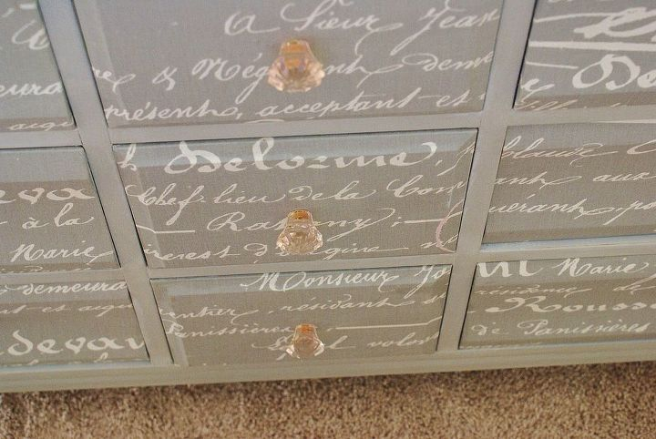 vintage dresser with french flair, painted furniture