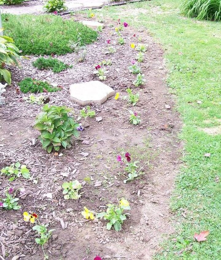 All planted.  Just need to mulch.