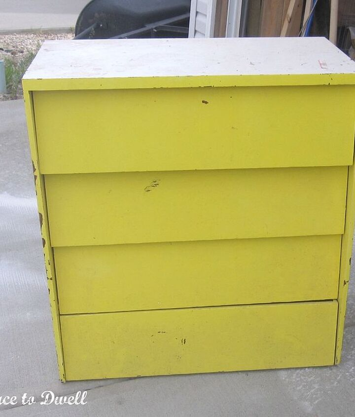 a free dresser finds a new home and a facelift, home decor, painted furniture