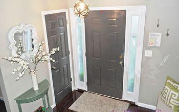 Dark Gray Painted Door