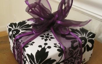 how to make a gift box from scrapbook paper, crafts, repurposing upcycling, This video will show you how to easily turn 2 sheets of scrapbook paper into a DIY gift box