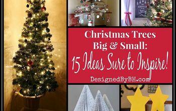 christmas trees big small 15 ideas sure to inspire, christmas decorations, seasonal holiday decor, Christmas Trees Big Small 15 Ideas Sure to Inspire
