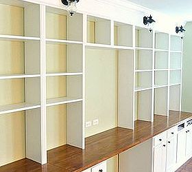 diy built in bookcases diy shelving ideas woodworking projects the finished bookcase