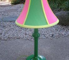 highlighter marker lamp makeover, crafts, lighting, Highlighter Marker Lamp After