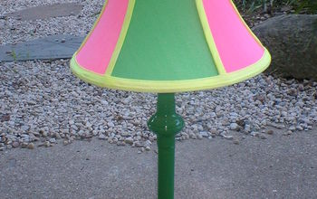 highlighter marker lamp makeover, crafts, lighting, Highlighter Marker Lamp After