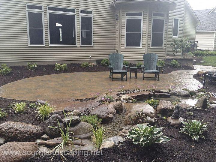 backyard patio designs rochester ny, concrete masonry, decks, gardening,  landscape, outdoor - Backyard Patio Designs, Rochester NY Hometalk