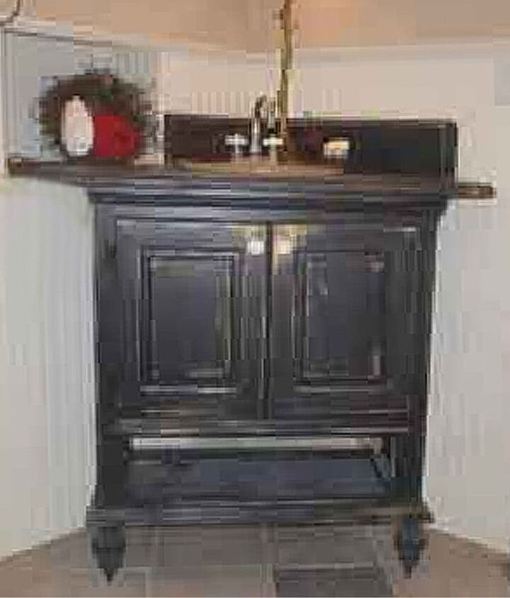 an old tv stand not, bathroom ideas, painted furniture, repurposing upcycling
