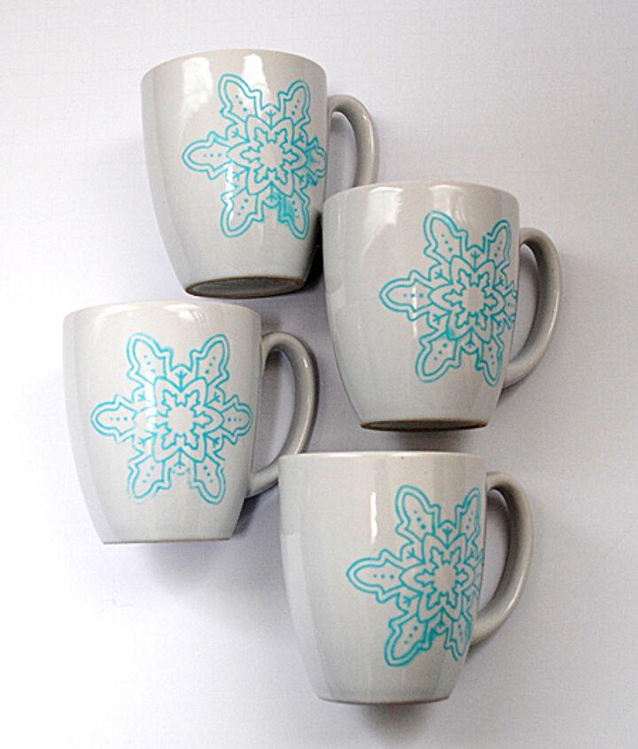 thrift store mug transformation, crafts