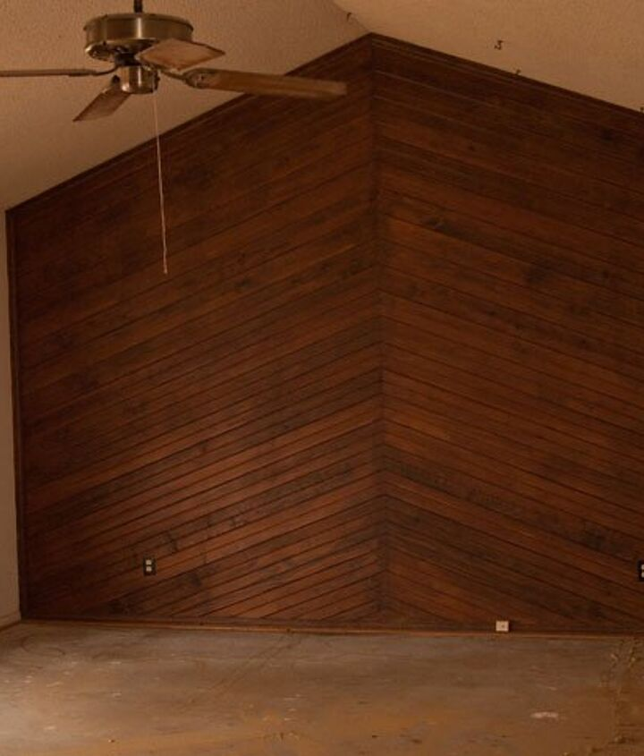 This is the chevron wood wall.