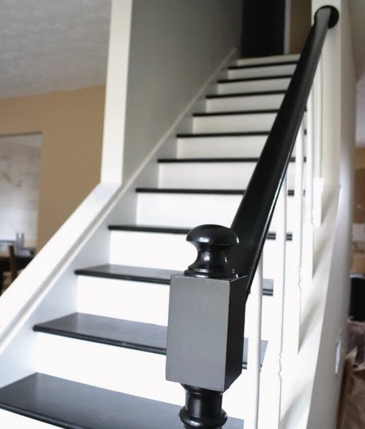 After: the stairs are much more welcoming!