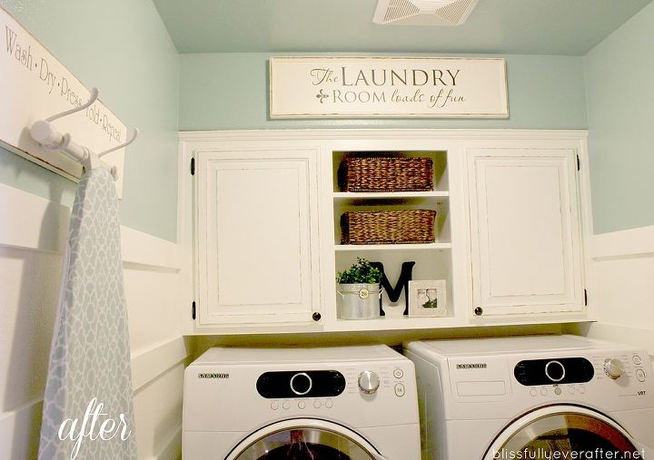 a complete diy laundry room transformation for only 100 hometalk