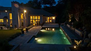 , Concrete pool this shear descents water features