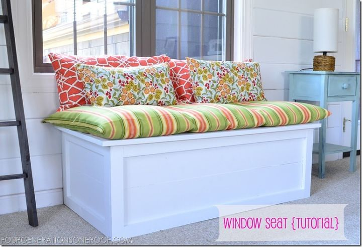 How To Build A Diy Window Seat Tutorial Painted Furniture