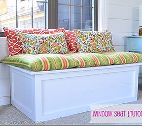 How To Build A Diy Window Seat Tutorial, Diy, How To, Painted Furniture