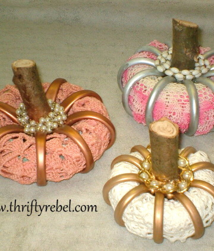 Shower Curtain Ring Pumpkins