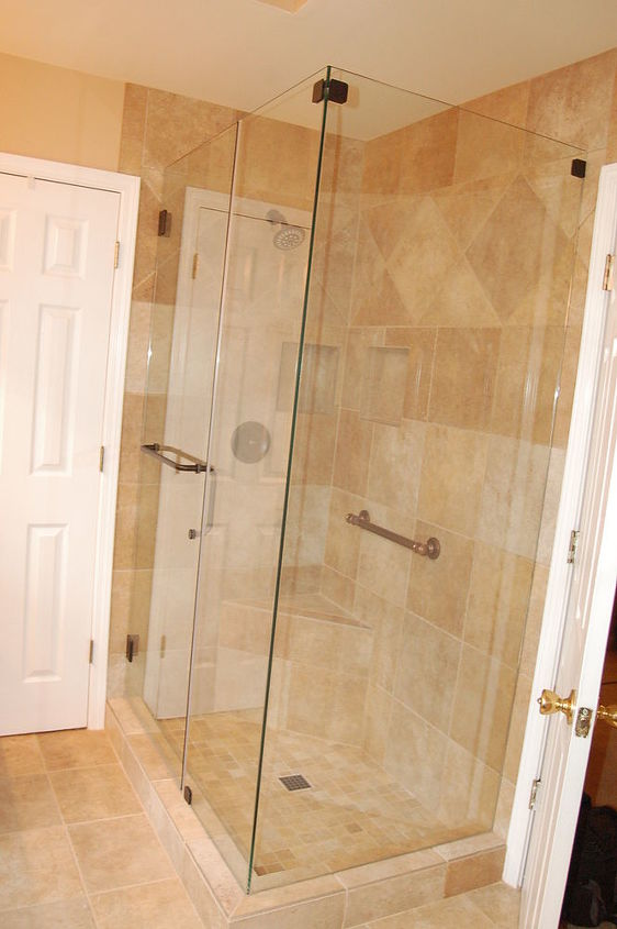 The corrected shower