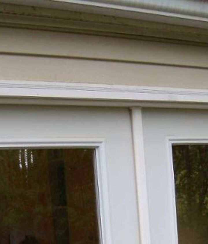 q sometimes i think i d like to have a small overhang over my back doors, curb appeal, doors