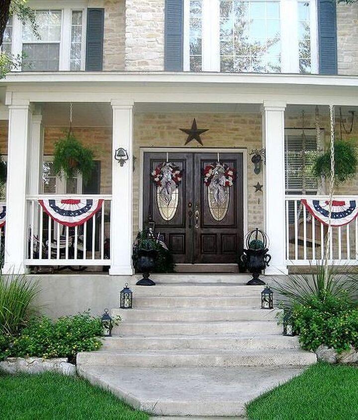 Twelve Oaks Manor going patriotic 2013