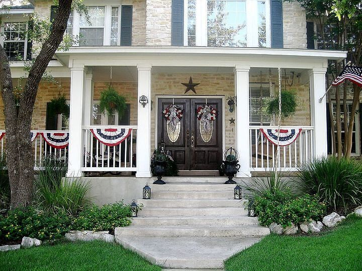 Twelve Oaks Manor going patriotic 2013