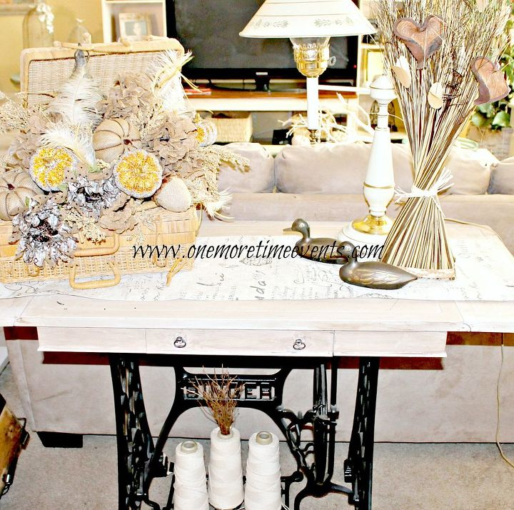 Hydrangea Fall Floral Centerpiece And How To Clean Silks Cleaning Tips Painted Furniture