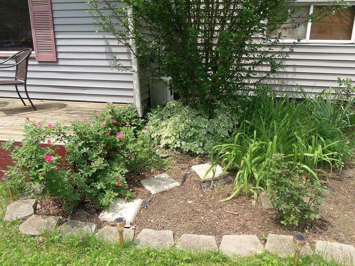 flowerbed redo, flowers, gardening, Before