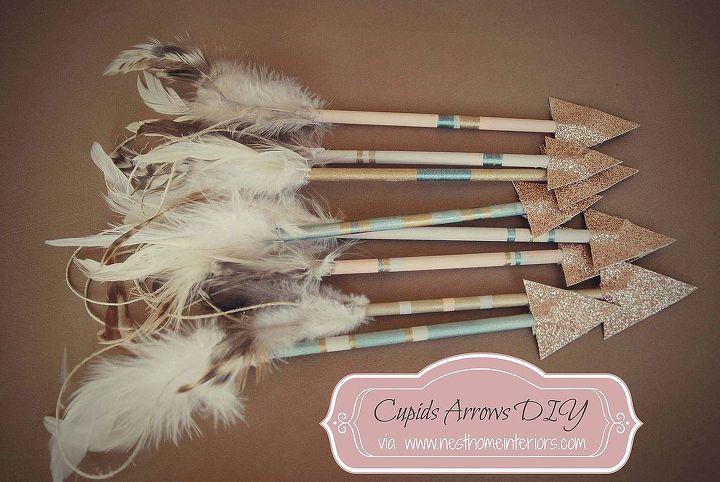 cupid s arrow diy, crafts, seasonal holiday decor, valentines day ideas