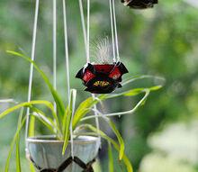 diy kirigami leather plant hanger, crafts
